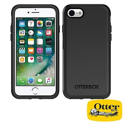 OtterBox iPhone7 / iPhone8炫彩幾何系列保護殼-純黑