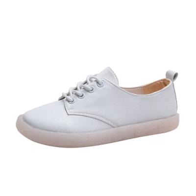 韓國KW美鞋館 話題單品輕巧透氣小白鞋-白