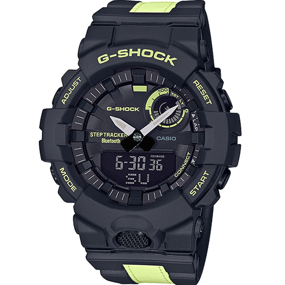 CASIO G-SHOCK 多功能藍牙錶(GBA-800LU-1A1)