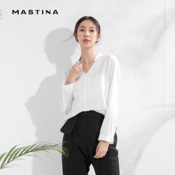 【MASTINA】質感線條設計-襯衫(二色)