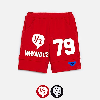 WHY AND 1/2 棉質萊卡短褲 11Y~14Y以上 多色可選