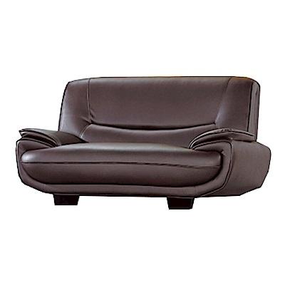 綠活居 佛利森時尚皮革二人座沙發-162x98x88cm-免組