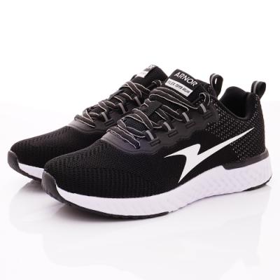 ARNOR-爆能輕量飛織跑鞋款-NI3240潮流黑(男段)