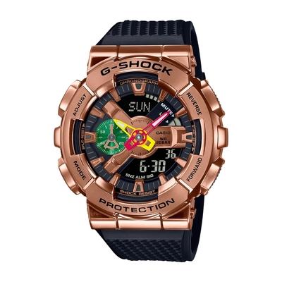 CASIO卡西歐 G-SHOCK 全金屬外殼 NBA球員 八村壘聯名 替換錶帶組 GM-110RH-1A_48.8mm