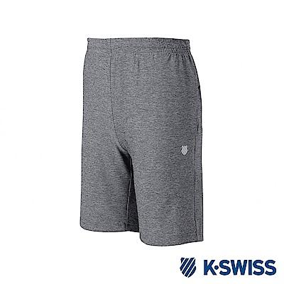 K-SWISS PF Melange Shorts運動短褲-男-灰