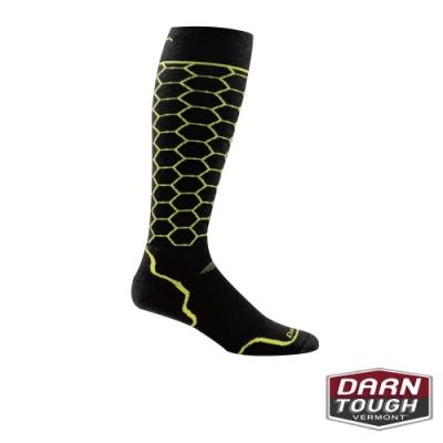 【美國DARN TOUGH】男羊毛襪Honeycomb滑雪襪(隨機)