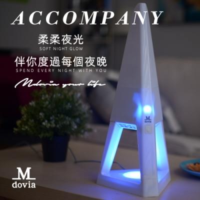 【Mdovia】ZONE 時尚設計精品 夜燈吸塵器