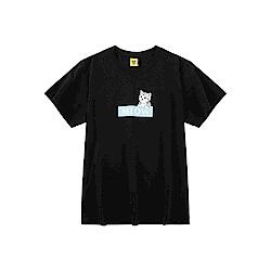 CACO-MIT 貓咪BOX短T-情侶款(兩色)-男【SCA021】