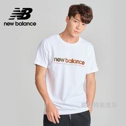 [New Balance]NB短袖上衣_男性_白色_AMT13500WT
