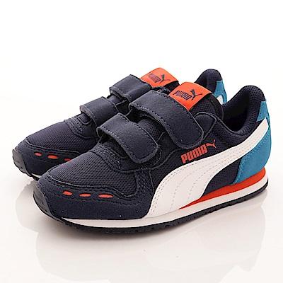 零碼-18.5cm PUMA童鞋 雙絆帶運動鞋款 TH60245-25藍