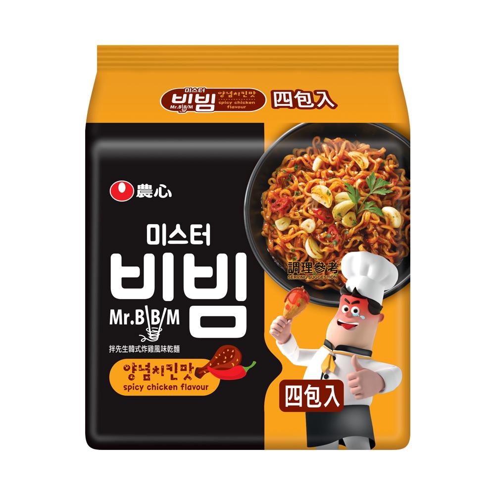 農心韓式炸雞風味乾麵(148g*4入)