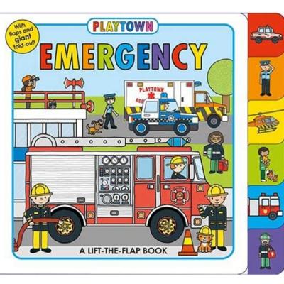 Playtown:Emergency 歡樂城即刻救援硬頁翻翻操作書(英國版)