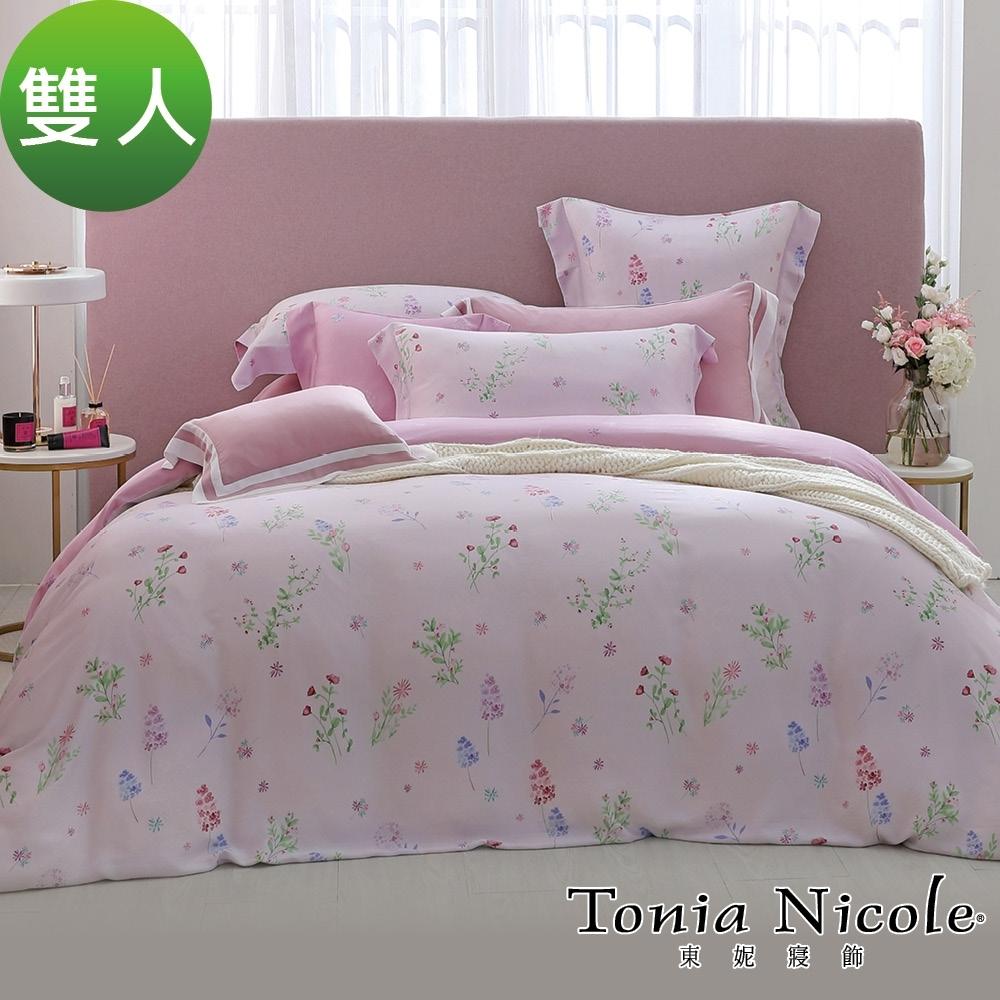 Tonia Nicole東妮寢飾 愛情童話環保印染100%萊賽爾天絲被套床包組(雙人)