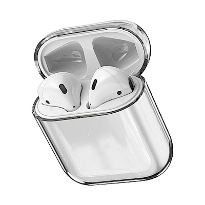 藍牙耳機保護套 AirPods 1/2 透明 時尚耳機保護套