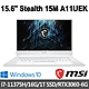 msi微星 Stealth 15M A11UEK-269TW 15.6吋 電競筆電 (i7-11375H/16G/1T SSD/RTX3060-6G/Win10) product thumbnail 1