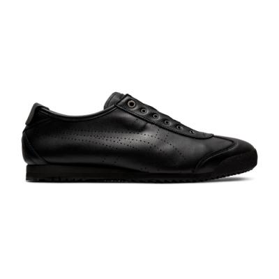 Onitsuka Tiger鬼塚虎-MEXICO 66 SD SLIP-ON 休閒鞋 男女(黑色)-1183A711-001