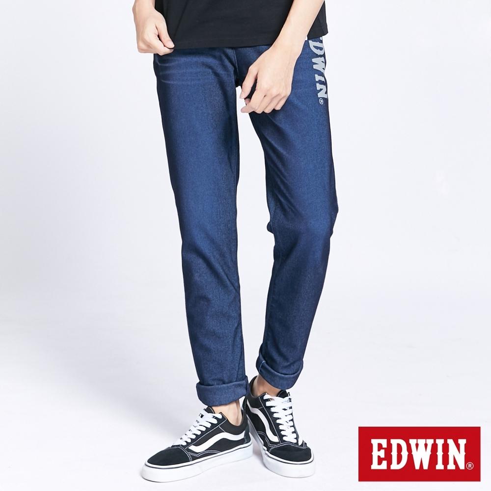 EDWIN JERSEYS 迦績 EJ6 透氣運動AB褲-男-石洗綠