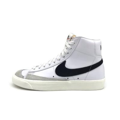 Nike Blazer Mid 77 女休閒鞋 高筒-白黑-CZ1055100