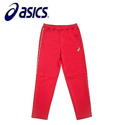 Asics 亞瑟士 男女針織長褲 紅 K31703-23