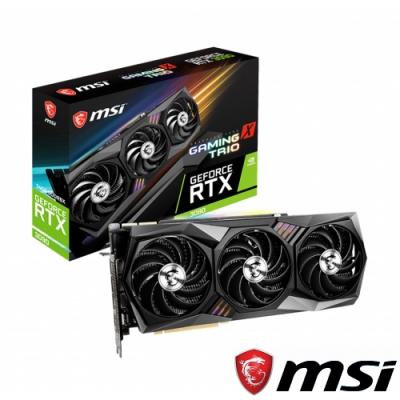 MSI GeForce RTX 3090 GAMING X TRIO 24G 顯示卡