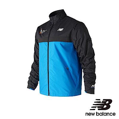 New Balance 風衣外套 MJ73210MLSB 男性 藍色