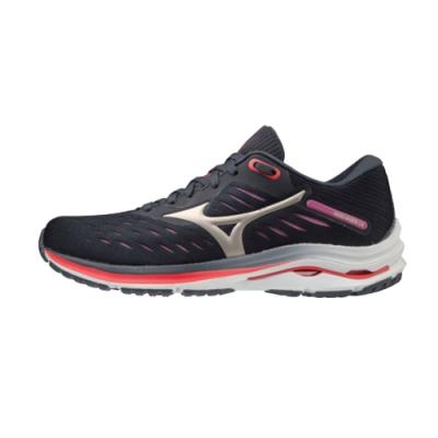 MIZUNO RIDER 女 跑步鞋 黑-J1GD200343