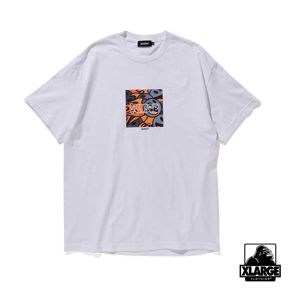 XLARGE S/S TEE SAM by PEN BOMB聯名款短T-白 product image 1