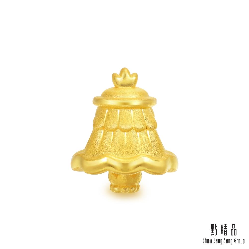 點睛品 Charme 文化祝福 八瑞相勝利幢 黃金串珠