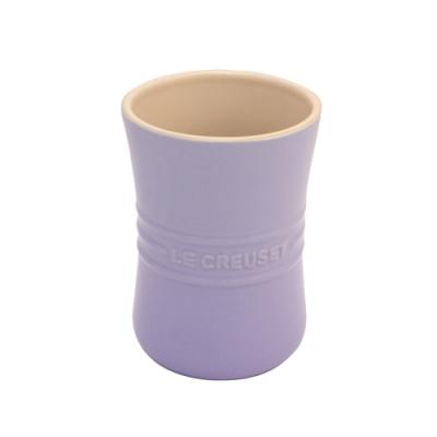 LE CREUSET 瓷器器皿座1L-粉彩紫
