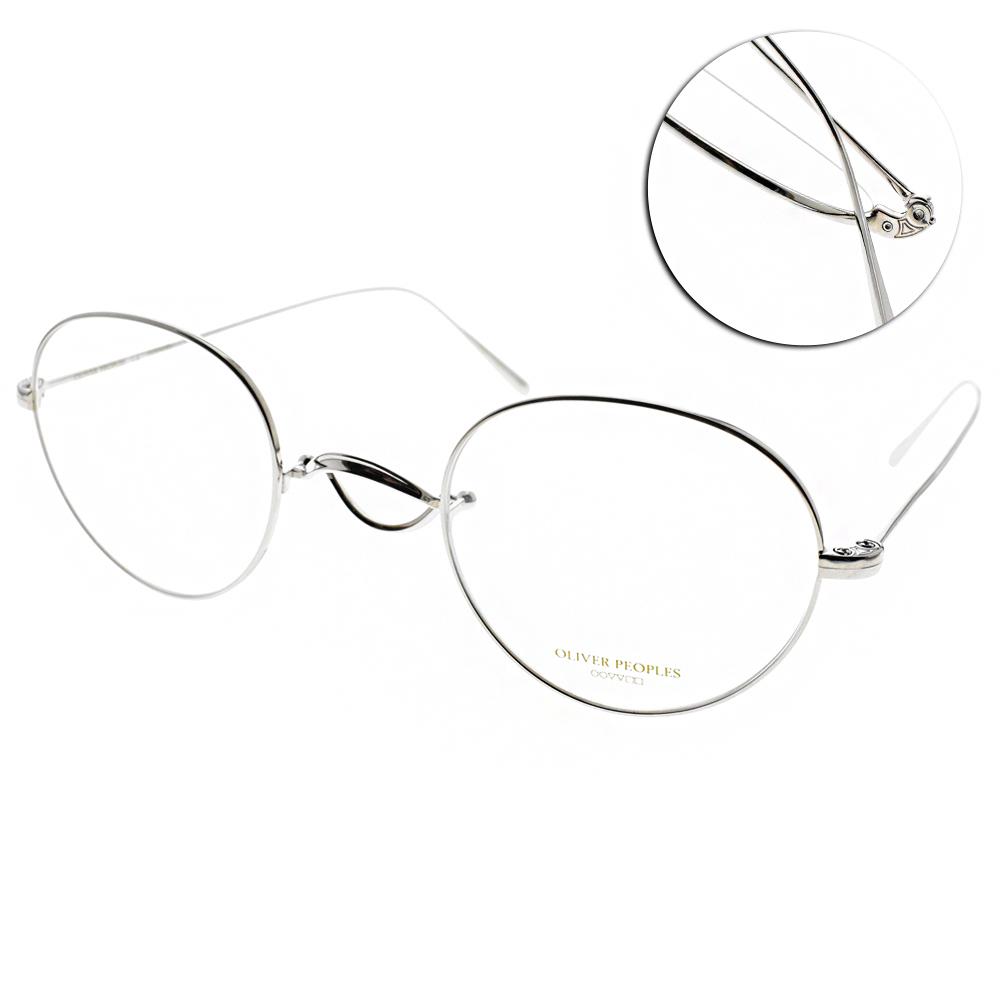 OLIVER PEOPLES眼鏡 復古經典/銀 #WHITT 5036