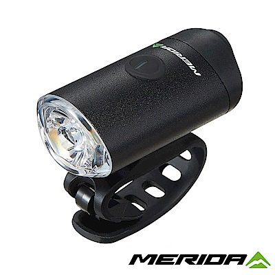 《MERIDA》美利達 300流明USB鋁合金充電前燈 黑 2127003734