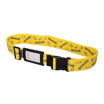 行李箱綁帶-黃 ODS15B02YL