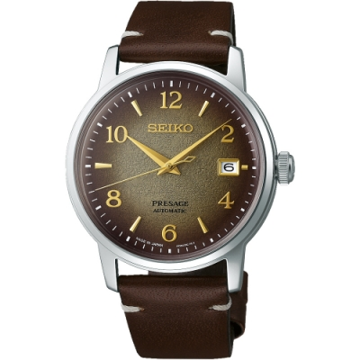 SEIKO Presage 調酒師系列 京都名茶限量機械錶(SRPF43J1/4R35-04G0Q)38.5mm