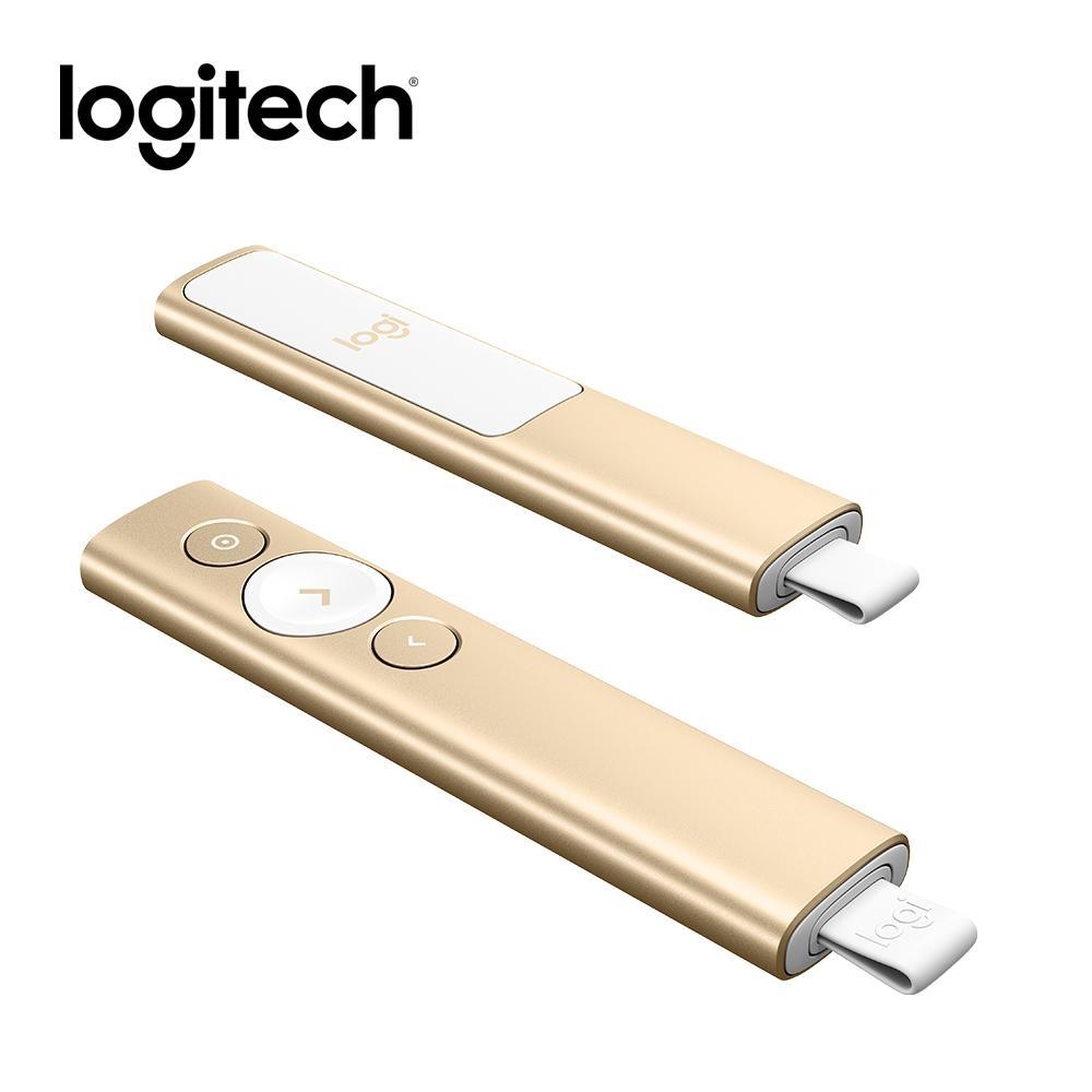 羅技SPOTLIGHT簡報遙控器-金色
