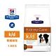 Hill's 希爾思 處方 犬用 K/D 腎臟病護理飼料 1.5KG 控制磷含量 維持精實肌肉量 product thumbnail 1