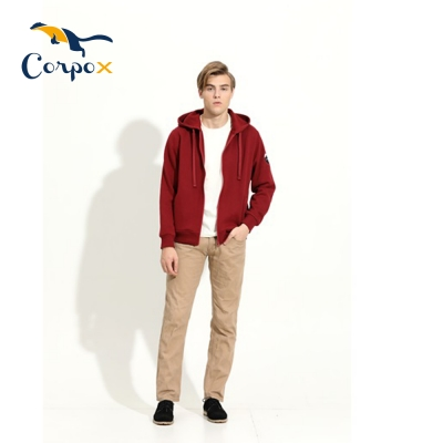 CorpoX 男款連帽外套(2色)
