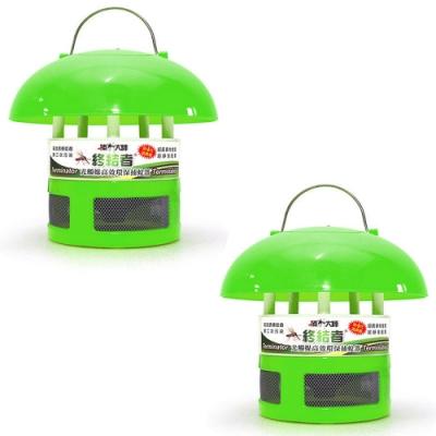 【捕蚊大師】終結者光觸媒高效環保捕蚊器 第四代改良版 - 2入