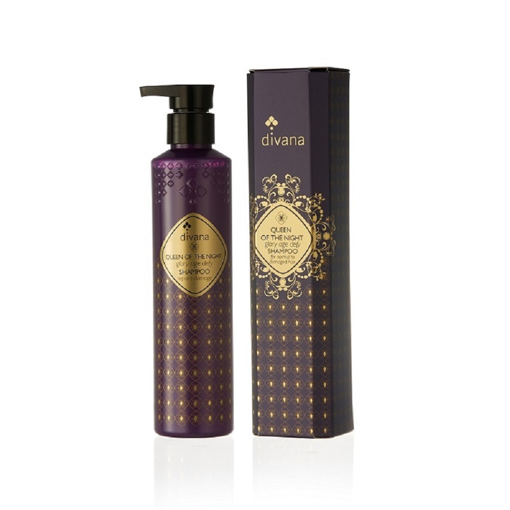 安垛小姐 - 泰國頂級香氛 SPA divana 夜之女王榮耀逆齡洗髮精  210ml