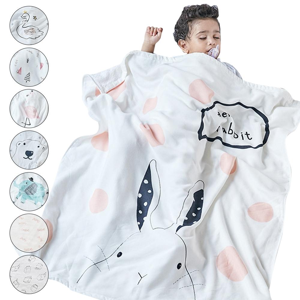 Muslin tree 純棉紗布包巾寶寶全棉蓋毯柔軟抱被吸水嬰兒浴巾