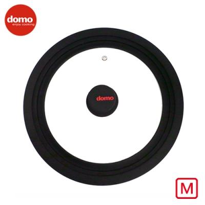 【Domo】 矽膠萬用鍋蓋-M號  (適合24cm/26cm/28cm尺寸鍋)