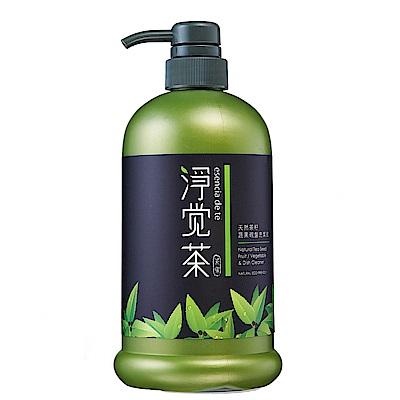 茶寶 淨覺茶 茶籽蔬果碗盤洗潔液15瓶(加贈補充包700ml/包)特惠組