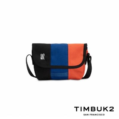 Timbuk2 Micro Classic Messenger 迷你郵差包 - 藍橘黑拼色