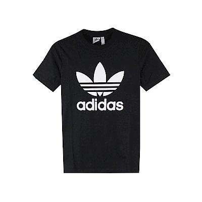 adidas女TREFOIL TEE圓領T短