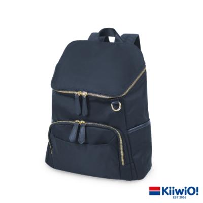 Kiiwi O! 實用尼龍系列 筆電/後背包 MATTIE 藍