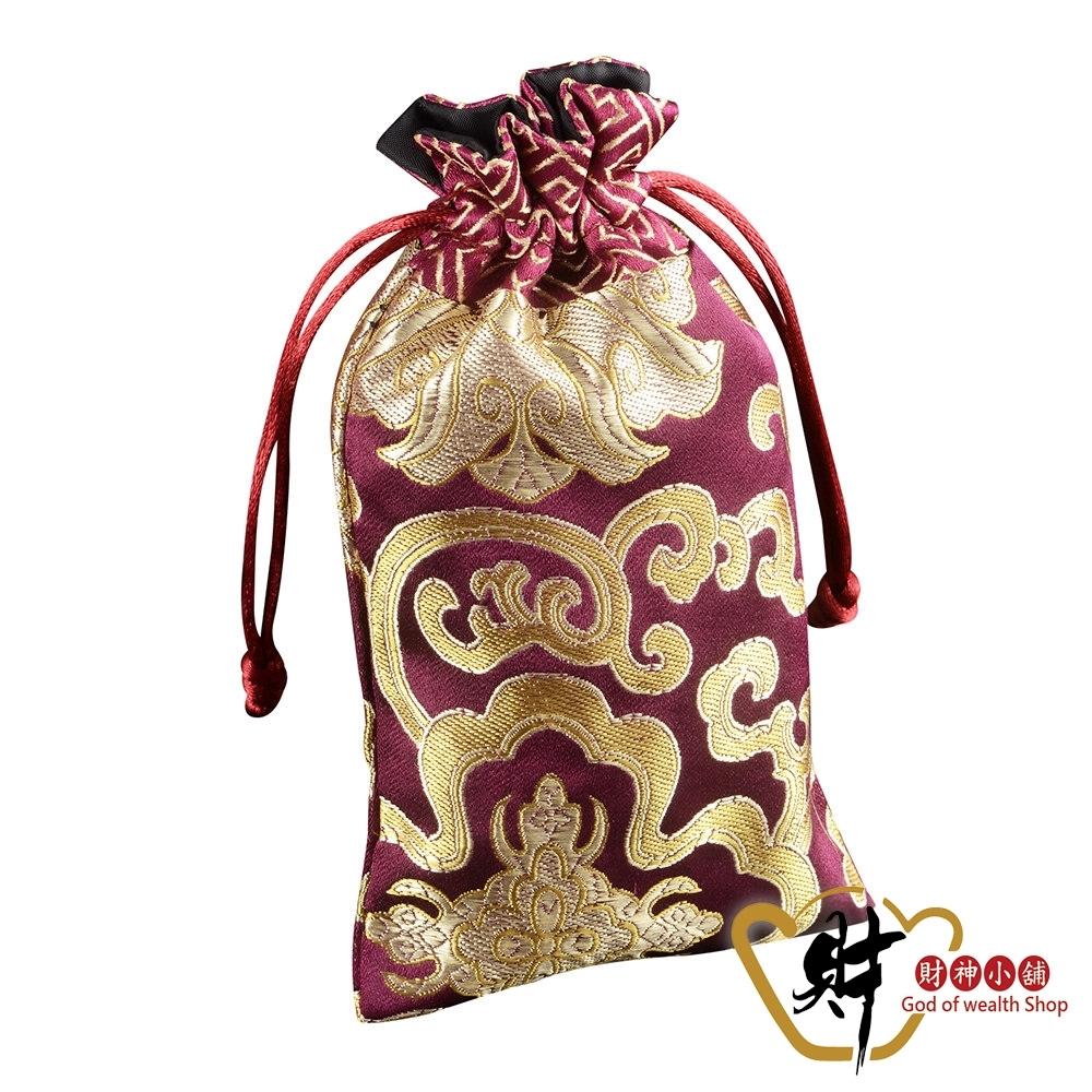 財神小舖 生肖狗 十二生肖開運祈福福袋-深紫 (含開光) SM-0012-11