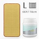 媽咪小站-Mammy Shop 3D天然纖維柔藤墊L(大床專用)+多功能活氧去漬粉450g