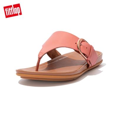 FitFlop GRACCIE TOE POST SANDALS 皮革夾腳涼鞋 女(柔和粉)