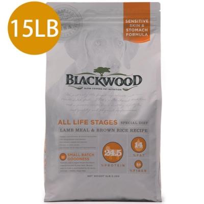 Blackwood柏萊富-功能性全齡護膚亮毛配方(羊肉+糙米)15LB