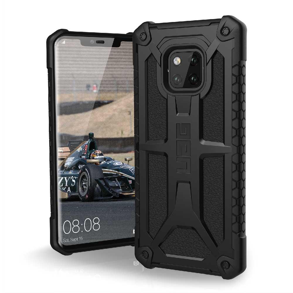 UAG Huawei Mate 20 Pro 頂級版耐衝擊保護殼-極黑
