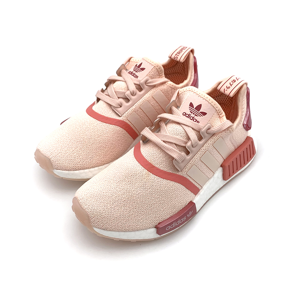 ADIDAS NMD_R1 女 慢跑鞋 乾燥玫瑰粉-EG5647